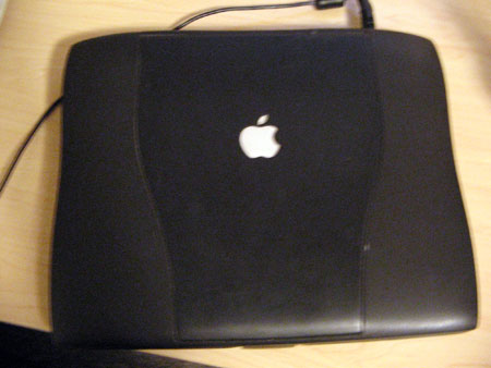 Powerbook G3, a Mac laptop in an Armani Suit